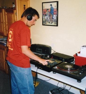 Les débuts d'un jeune DJ en 1998