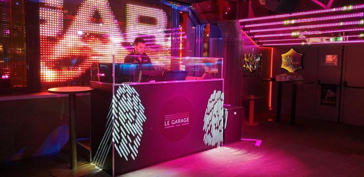 Cabine DJ du Garage 2019